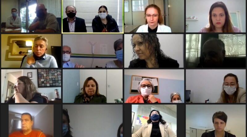 AGEM se reúne com DRS, CDRMS e Prefeitos da região para discutir saúde