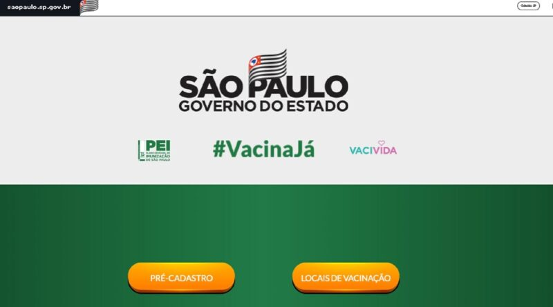 Vacina Já contabiliza mais de 1 milhão de cadastros
